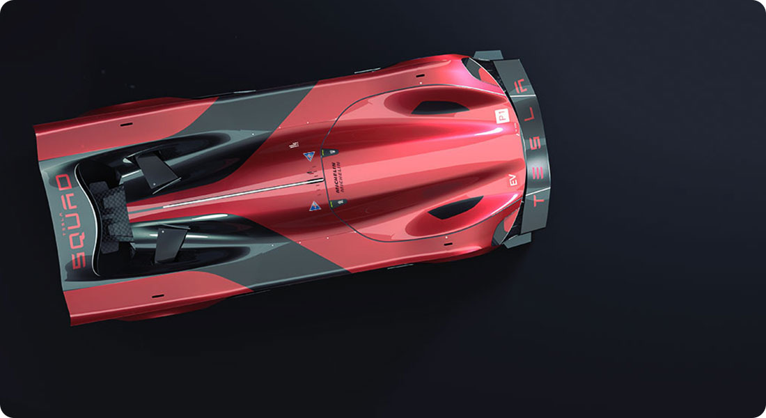 Tesla : Le Mans 2030 by Jeroen Claus and Fabian Breës