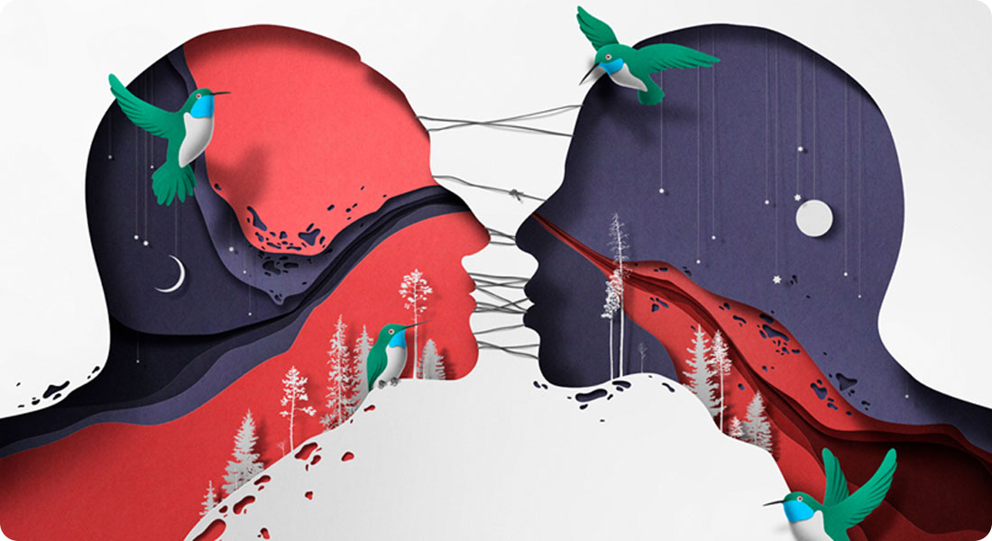 Discover the cut paper illustrations of Eiko Ojala
