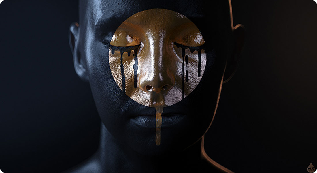 Golden Tears - A Successful Combination of Gold and Black