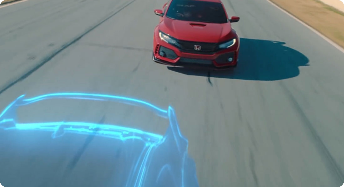 When Honda uses mixed reality to promote a car - Featured