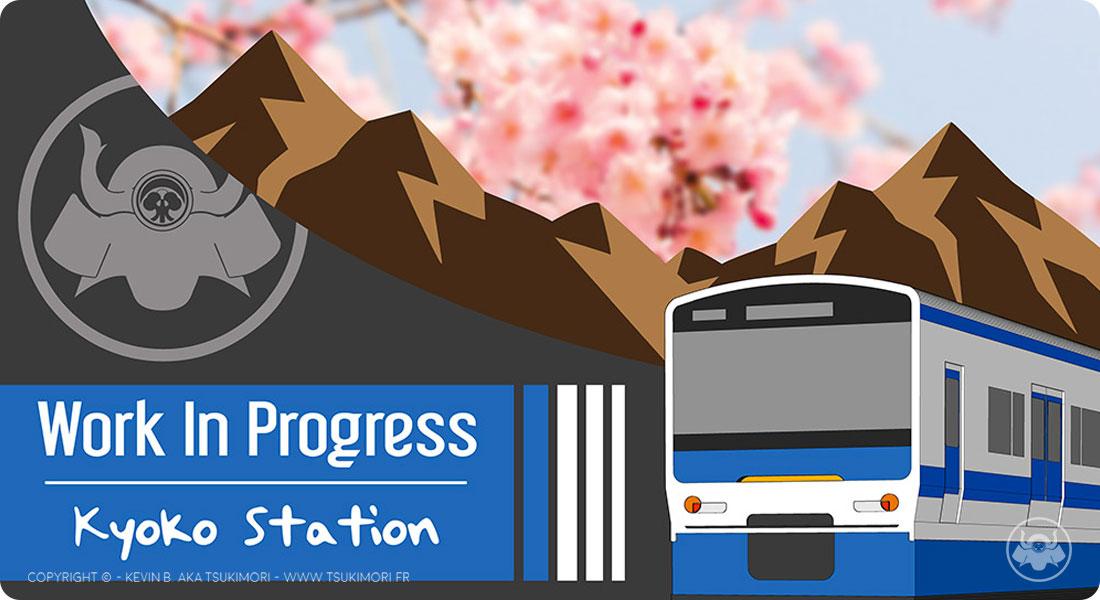 WIP - Kyoko Station - Sketchbook by Tsukimori - Featured