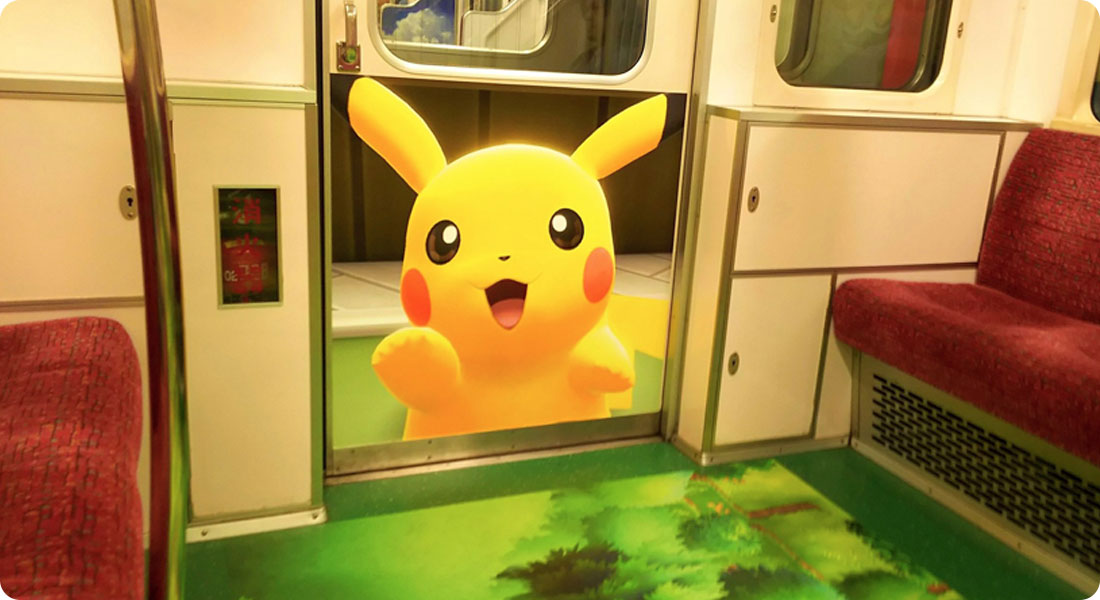 When the Tokyo subway evolves into Pokémon - Featured