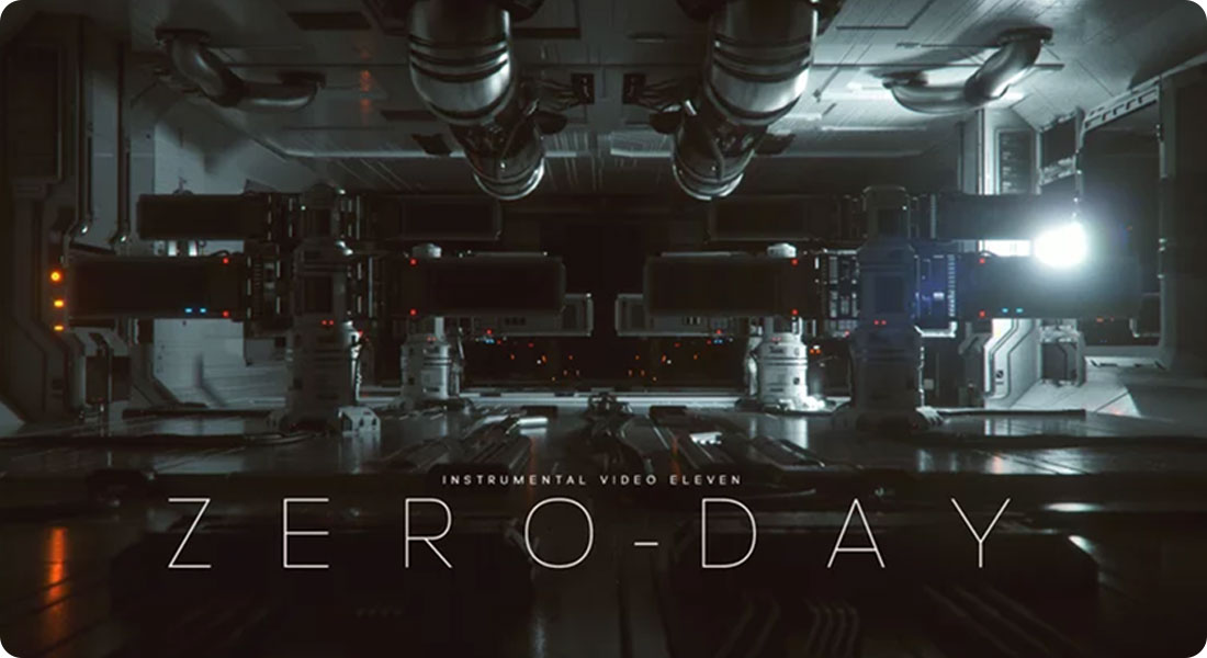 ZERO-DAY - A superb creation with Cinema 4D and Octane render - Featured